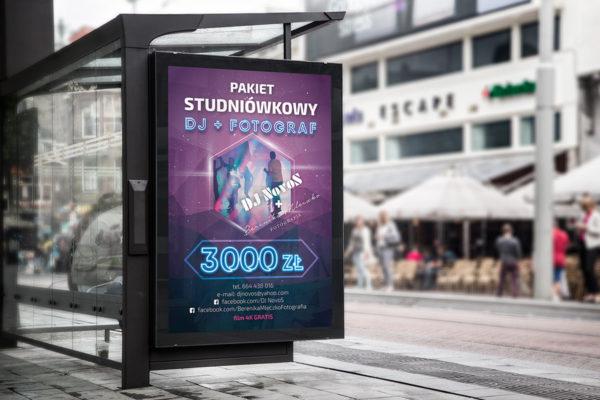 plakat dla DJ-a