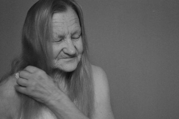 portret, człowiek, ludzie, starość