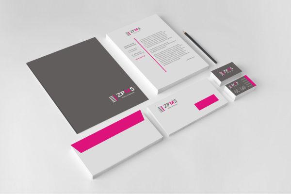 identyfikacja wizualna, firmy, wizytówki, papier firmowy