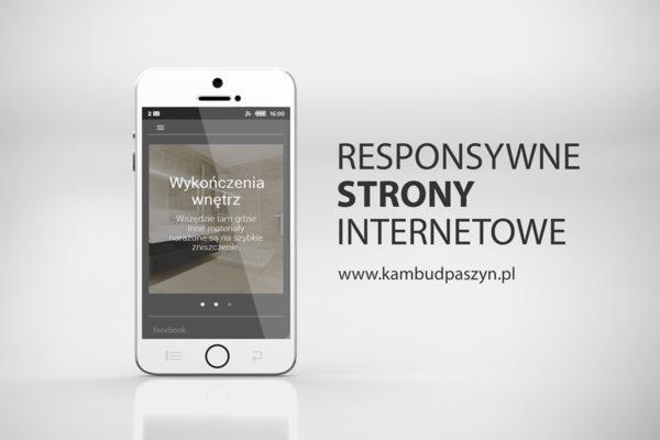 strony www, responywne, internetowe